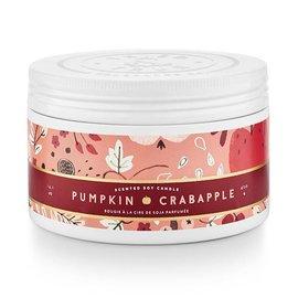 Lg Candle Tin, Pumpkin Crabapple