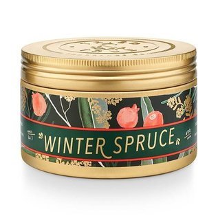 Lg Candle Tin, Winter Spruce