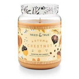 XLG Candle Jar, Autumn Chestnut