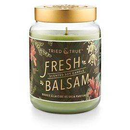 XLG Candle Jar, Fresh Balsam