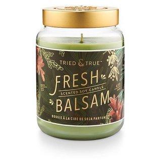 XLG Candle Jar, Fresh Balsam