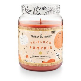 XLG Candle Jar, Heirloom Pumpkin