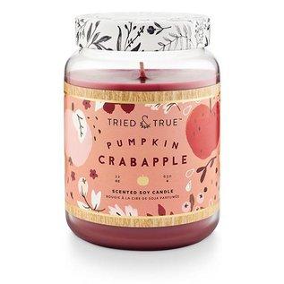 XLG Candle Jar, Pumpkin Crabapple