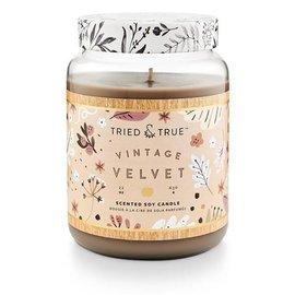 XLG Candle Jar, Vintage Velvet