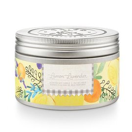 Lg Candle Tin, Lemon Lavender