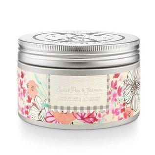 Lg Candle Tin, Sweet Pea & Jasmine