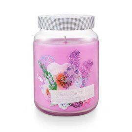 XLG Candle Jar, Fresh Cut Lilacs