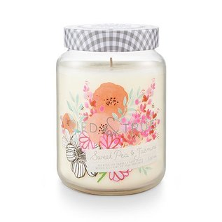 XLG Candle Jar, Sweet Pea & Jasmine