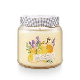 Lg Candle Jar, Lemon Lavender