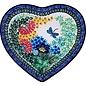 Ceramika Artystyczna Heart Platter Size 3 U4612 Signature