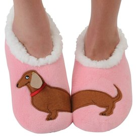 Snoozies Slippers Dachshund