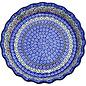Ceramika Artystyczna Deep Pie Plate Stained Glass WR