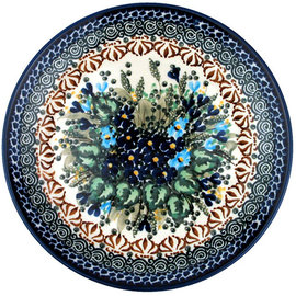 Ceramika Artystyczna Dinner Plate Forget Me Never Signature
