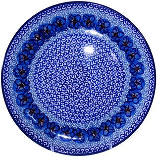 Ceramika Artystyczna Dinner Plate Cottage Blue Signature