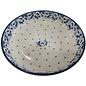Ceramika Artystyczna Pasta Serving Bowl Magnolia White