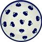 Ceramika Artystyczna Bread & Butter Plate Double Blueberry