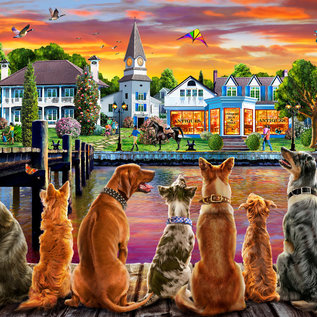 Puzzle Dockside Dogs