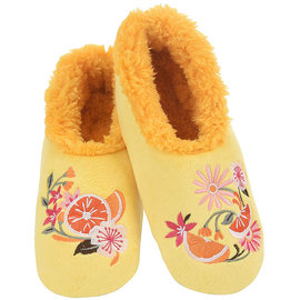 Snoozies Floral Yellow XL