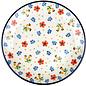 Ceramika Artystyczna Dinner Plate Petite Poppy Garden
