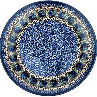 Ceramika Artystyczna Dinner Plate Ocean Flora