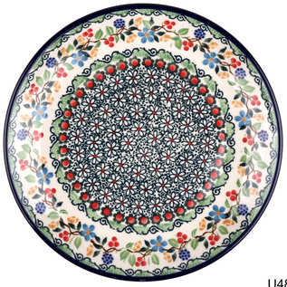 Ceramika Artystyczna Dinner Plate Blackberry Garden Signature 3.5