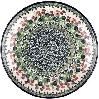 Ceramika Artystyczna Dinner Plate Iris Garden Signature 3.5