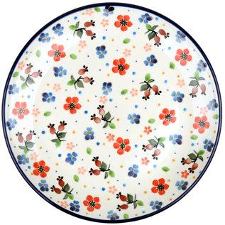 Ceramika Artystyczna Dinner Plate Petite Poppy Garden Signature