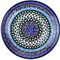 Ceramika Artystyczna Dinner Plate Geometric Garden Signature