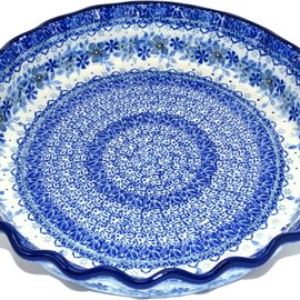 Ceramika Artystyczna Deep Pie Plate U4788 Signature