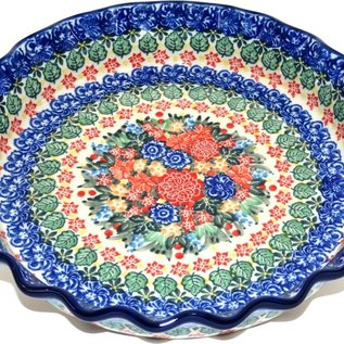 Ceramika Artystyczna Deep Pie Plate U4865 Signature