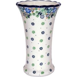 Ceramika Artystyczna Trumpet Vase Size 2 Irish Mint