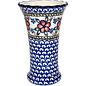 Ceramika Artystyczna Trumpet Vase Size 2 Apple Blossom Pink