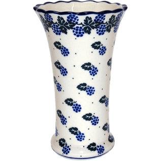 Ceramika Artystyczna Trumpet Vase Size 2 Blackberry