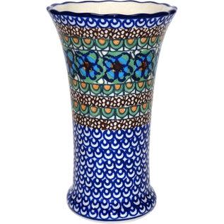 Ceramika Artystyczna Trumpet Vase Size 2 Cottage Green Signature