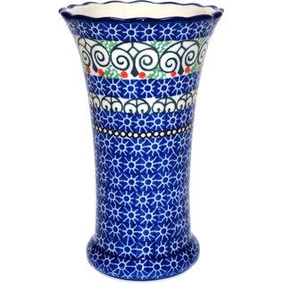 Ceramika Artystyczna Trumpet Vase Size 2 Stained Glass