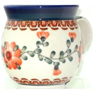 Ceramika Artystyczna Bubble Cup Small Rose Tangerine