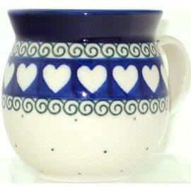 Ceramika Artystyczna Bubble Cup Small Ring of Hearts
