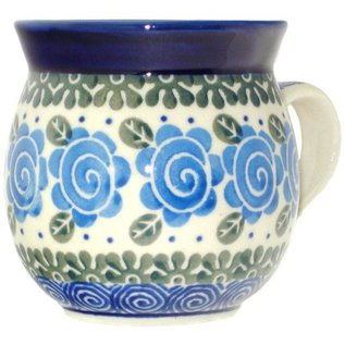 Ceramika Artystyczna Bubble Cup Small Lady Godiva Blue