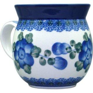 Ceramika Artystyczna Bubble Cup Small Blue Rose