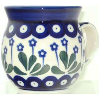 Ceramika Artystyczna Bubble Cup Small Royal Forget Me Not