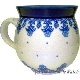 Ceramika Artystyczna Bubble Cup Small Lacework Blue