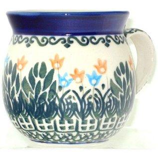 Ceramika Artystyczna Bubble Cup Small Spring Tulips