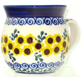 Ceramika Artystyczna Bubble Cup Small Sunflower