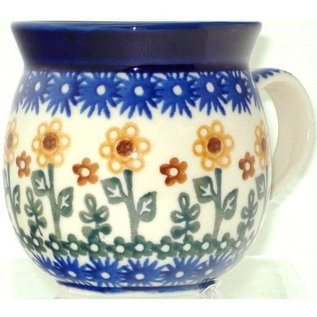 Ceramika Artystyczna Bubble Cup Small Summer Sunflowers