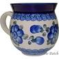 Ceramika Artystyczna Bubble Cup Medium Blue Rose