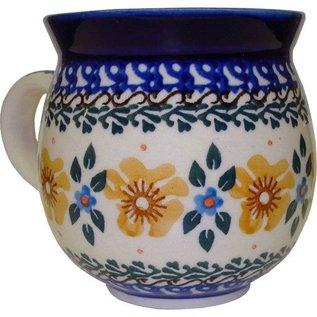 Ceramika Artystyczna Bubble Cup Medium Golden Amber