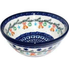 Ceramika Artystyczna Kitchen Bowl Size 1 Jingle Bells