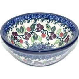 Ceramika Artystyczna Kitchen Bowl Size 1 Cranberry Vine