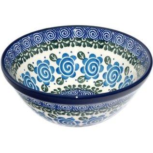 Ceramika Artystyczna Kitchen Bowl Size 1 Lady Godiva Blue