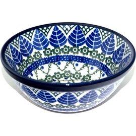 Ceramika Artystyczna Kitchen Bowl Size 1 Blue Spruce